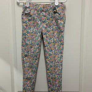 Carter's 5t girl floral pants